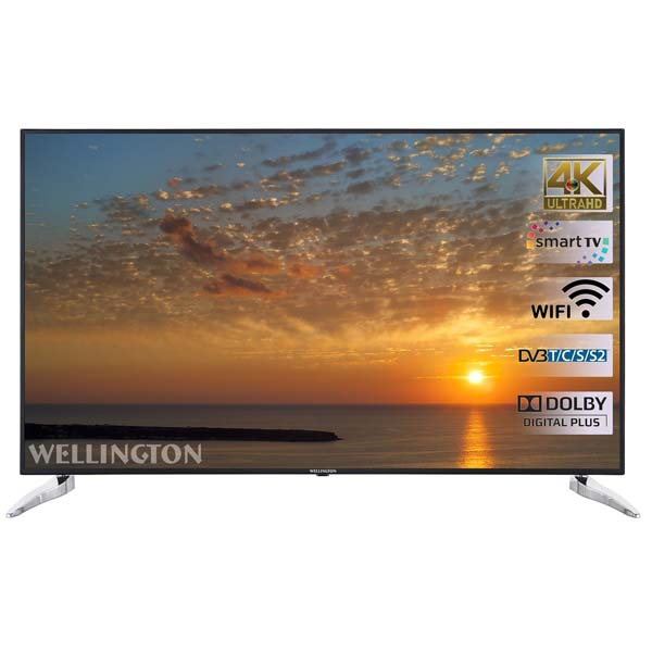 Wellington 65UHDS240SW: televizorul smart urias
