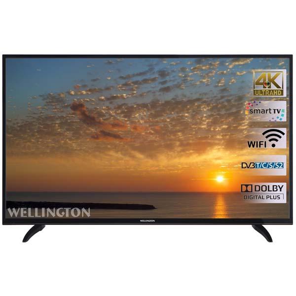 Wellington 49UHDV296SW: televizorul 4k accesibil