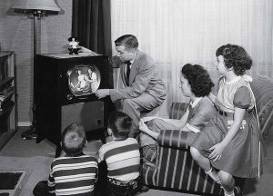istoria televiziunii