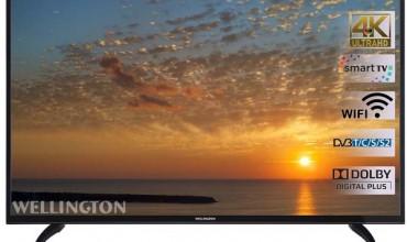 Wellington 55UHDV296SW: televizorul smart 4k atractiv