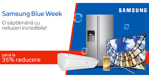 Samsung Blue week