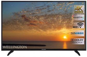 Wellington 40UHDV296SW:  televizor smart care merita
