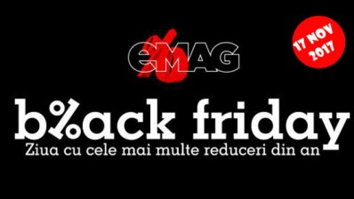Cand incepe Black Friday 2017 la eMag